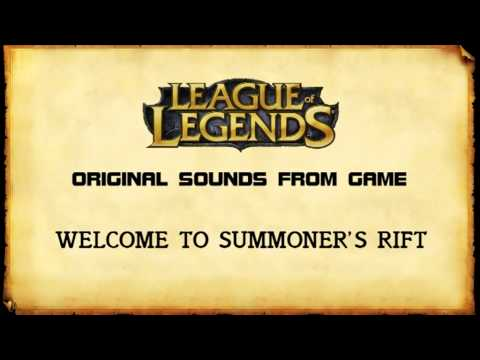 League Of Legends Original Sounds - Welcome To Summoner's Rift