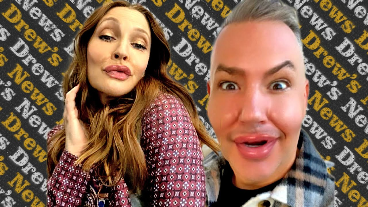 Drew and Ross Look Like a Plastic Surgery Mishap After Using Viral Instagram Filter | Drew's News