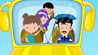 Wheels On The Bus Kids Songs And Nursery Rhymes For Kindergarten