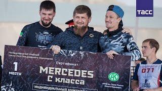 В Чечне впервые прошла Гонка героев  огневые рубежи, грязь и  Мерседес  C класса