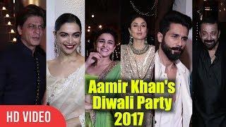 Download lagu Aamir Khan s Grand Diwali Party 2017 Full Night Party Shahrukh Sanjay Dutt Ranbirmany more MP3