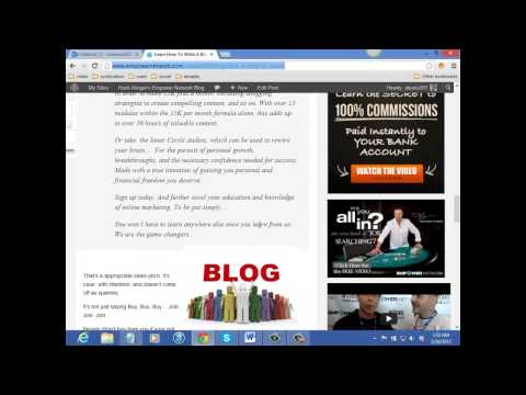 Hank Klinger - How to convert you blog to pdf. and use file sharing sites