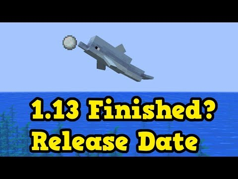 Minecraft 1.13 / 1.4 - Is The Update Aquatic Finished? Release Date
