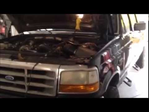1994 5-1997 OBS Ford Powerstroke PCM Removal - TS 6 Position Chip Install