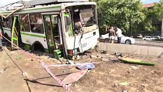 Հերացի փողոցում տրոլեյբուս է վթարի ենթարկվել, 7 վիրավոր կա