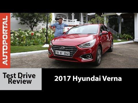 2017 Hyundai Verna - Test Drive Review - Autoportal