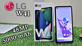 LG W41 Unboxing amp Review 48 MP 5000 mAh HDR videos