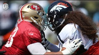 HIGHLIGHTS: 49ers joint practice Day 2