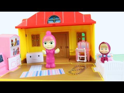 Abla Maşa Küçük Maşa'nın Oyuncağını Aldı - Maşa ve Koca Ayı Çizgi Filmleri