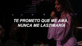 [ Camila Cabello ] - First Man (GRAMMYs 2020) // Traducción al español