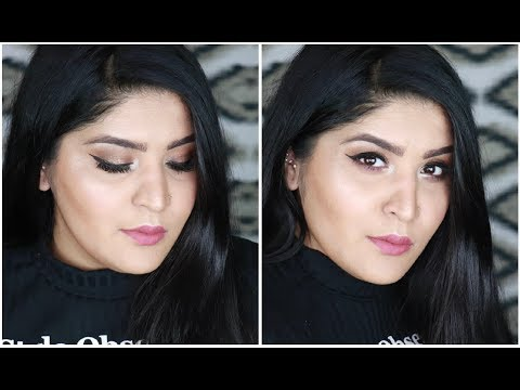 Full Face Of Makeup Using Just Indian