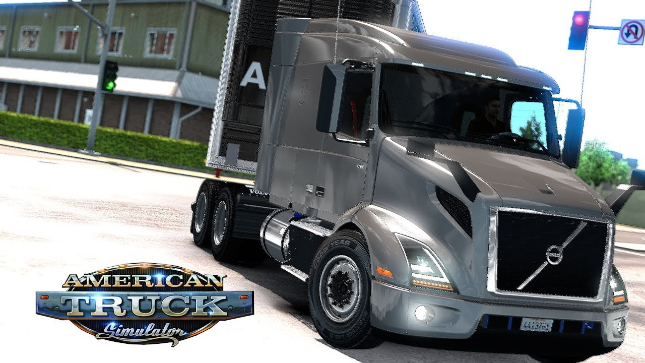 american truck simulator volvo vnr 2018 youtube. Black Bedroom Furniture Sets. Home Design Ideas