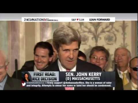 John Kerry has a little fun with John McCain