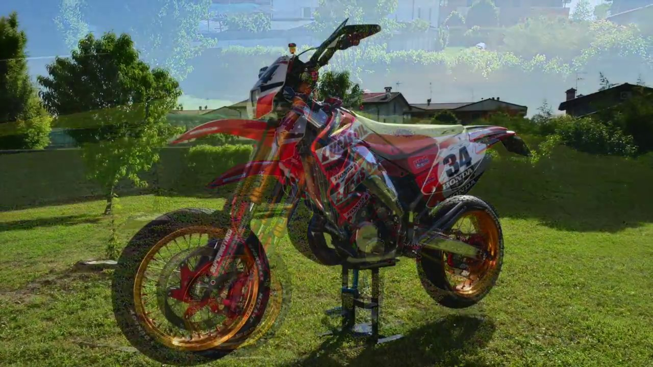 honda cr 250 motard story youtube. Black Bedroom Furniture Sets. Home Design Ideas