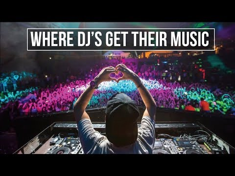 Where do DJ's download their music?