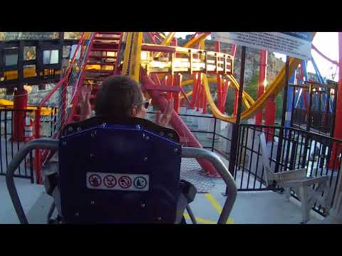 Wonder Woman Rollercoaster at Fiesta Texas