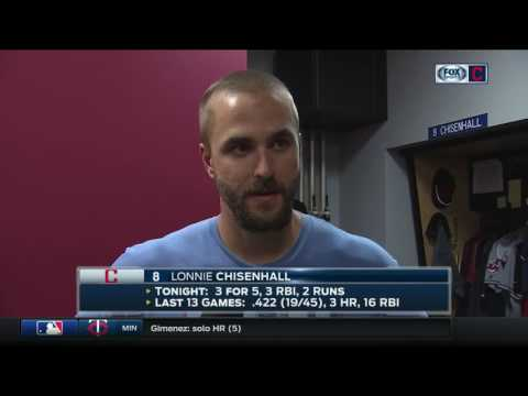 Indians' Lonnie Chisenhall: 'This is the best win of the year'