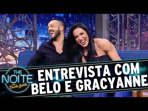 The Noite (25/08/16) - Entrevista com Belo e Gracyanne Barbosa