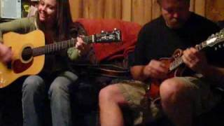 sierra hull and carl berggren playing bill monroe tune roanoke