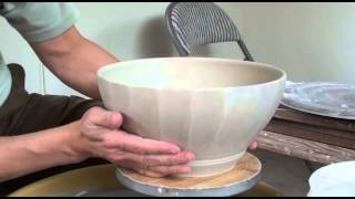 145.  Throwing / Faceting a Large Salad Bowl with Hsin-Chuen Lin