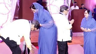 Subhash Ghai Touches Feet & Took Blessings From Shammi Kapoor Wife Neila Devi In Public