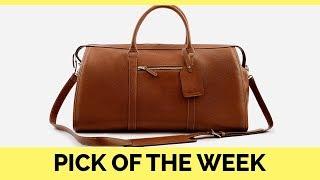POTW: Budget Leather Weekender Bag