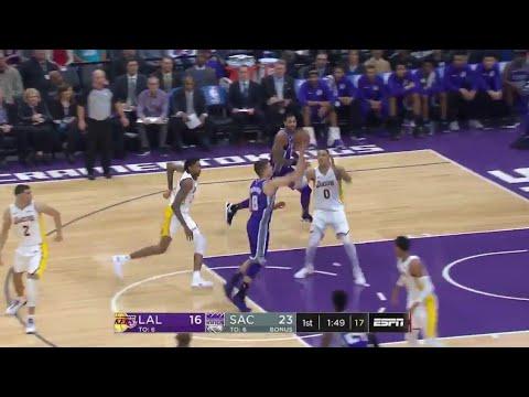 Bogdan Bogdanovic'in birbirinden güzel asistler yaptığı 14 sayı, 7 asistlik Lakers maçı performansı