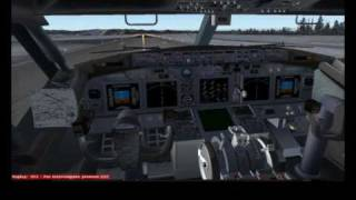 FS2004 Alaska airlines / Aeroservice 375 Nome-Anchorage