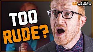 Redhaired Comedian vs Hecklers Steve Hofstetter