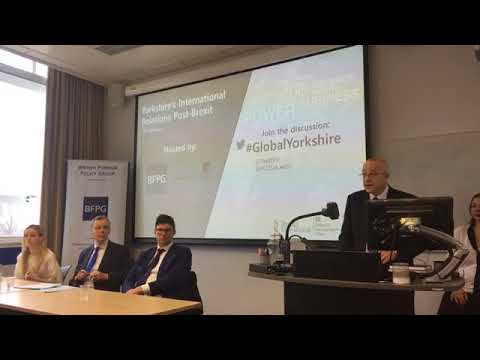Panel discussion: Yorkshire's International Relations post-Brexit