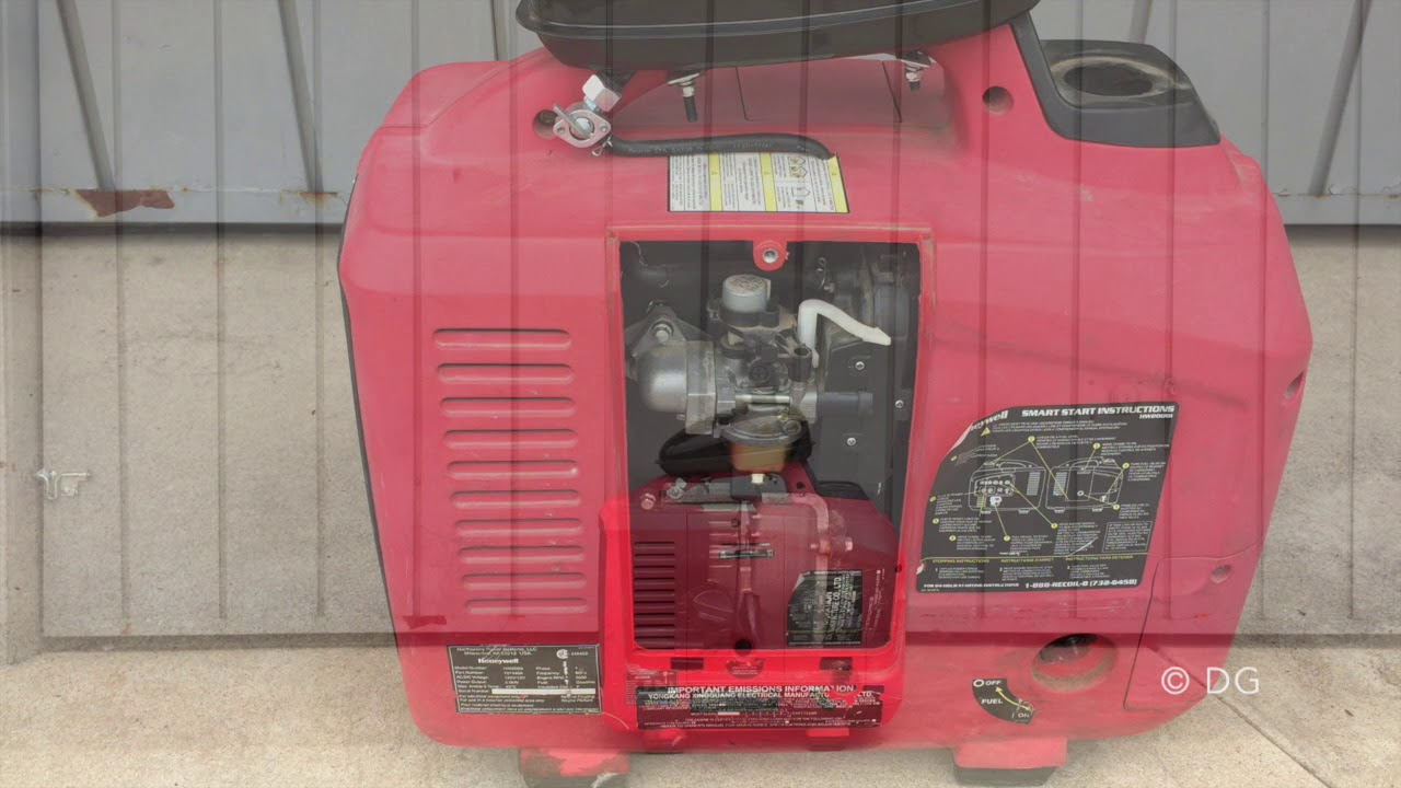 How to fix Honeywell generator 2000i ? - YouTube | Hw 2000i Inverter Wiring Diagram |  | YouTube