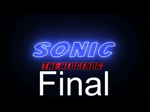 (Homework) Sonic Title Sequence Final Project Render