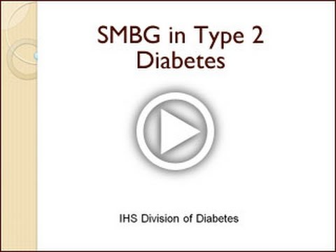 Self-Monitoring of Blood Glucose - SMBG in Type 2 Diabetes