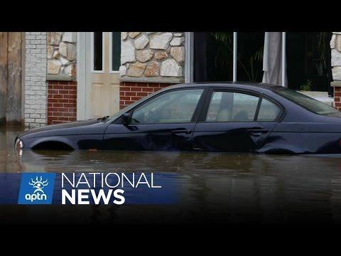 Kanesatake Hit by Rising Waters | APTN News