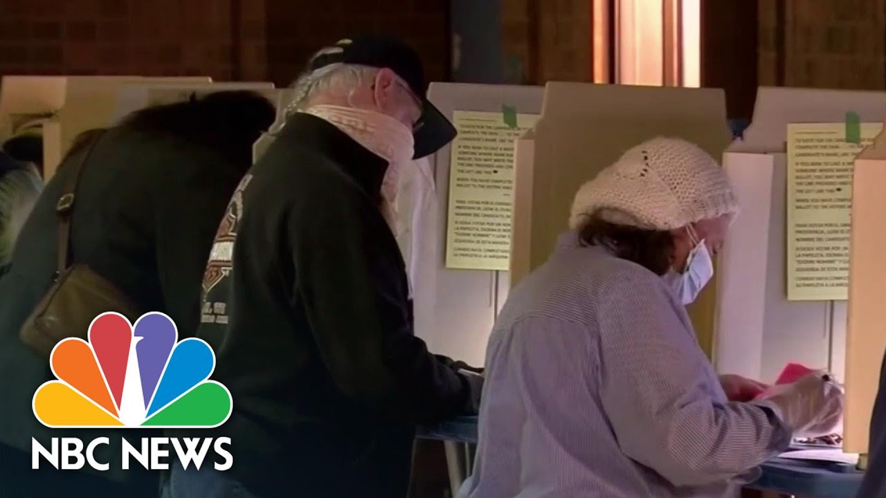 Voting rights group reports complaints about poll watchers ...