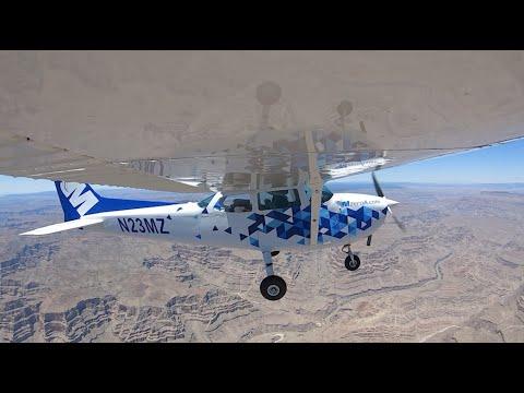 Cross Country Over The Grand Canyon - MzeroA Flight Training