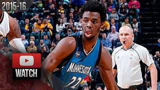 Andrew Wiggins Full Highlights at Pacers (2015.11.13) - 26 Pts