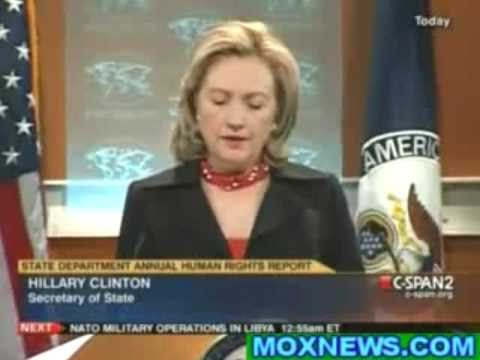 Hillary's Hypocritical Human Rights Speech - April 8, 2011