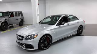 Mercedes C63S AMG - Revs + Walkaround in 4k