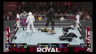 WWE 2K19 all Fortnite superstars Royal Rumble