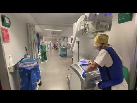 Los hospitales llegaron a picos del 80 % en la tercera ola