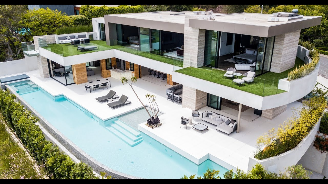 NEW SUPER HOUSE !!! $27,350,000 | 1251 Shadow Hill Way  Beverly Hills  CA  90210 (4K)