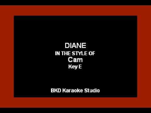 Cam - Diane (Karaoke Version)