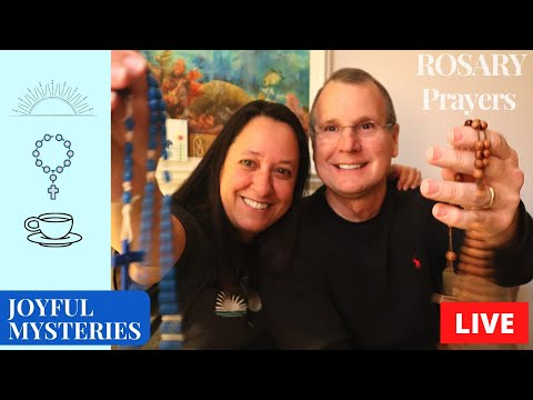 Rosary Today's prayers LIVE the Joyful Mysteries of the Holy Rosary with special guest Deacon Doug!