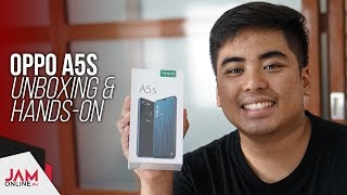 OPPO A5s Unboxing and Hands-on