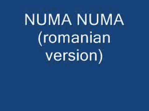 Numa Numa (romanian version)