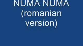 Numa Numa (romanian version)