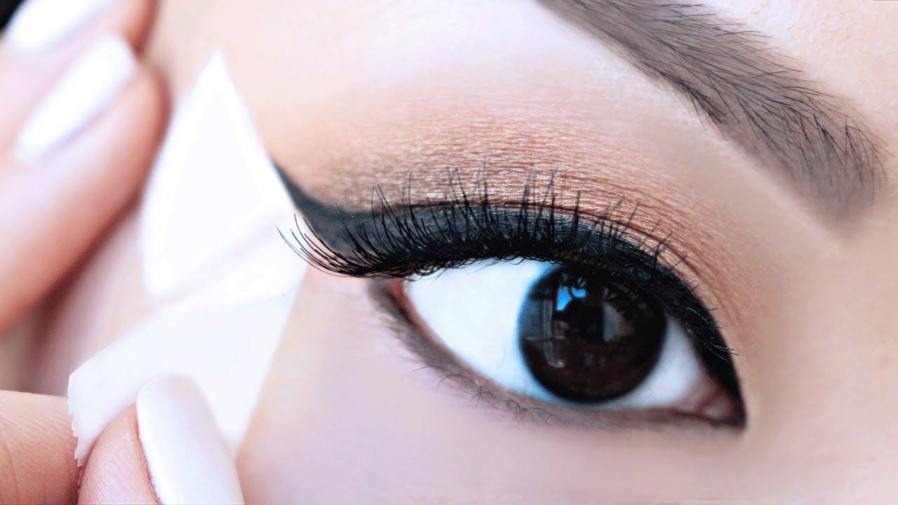 Image result for tape for eyeliner pinterest