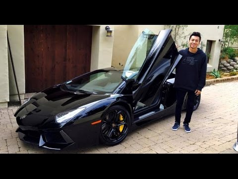 nyjah huston lamborghini nike money youtube. Black Bedroom Furniture Sets. Home Design Ideas