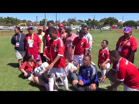 Day2 Special Olympics Asia Pacific Games Amerika Samoa Soccer